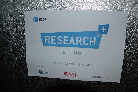 Research plus Rhein-Main