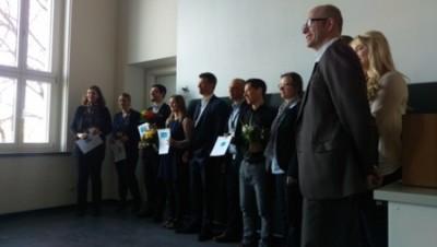 Preisträger und Juroren GOR16